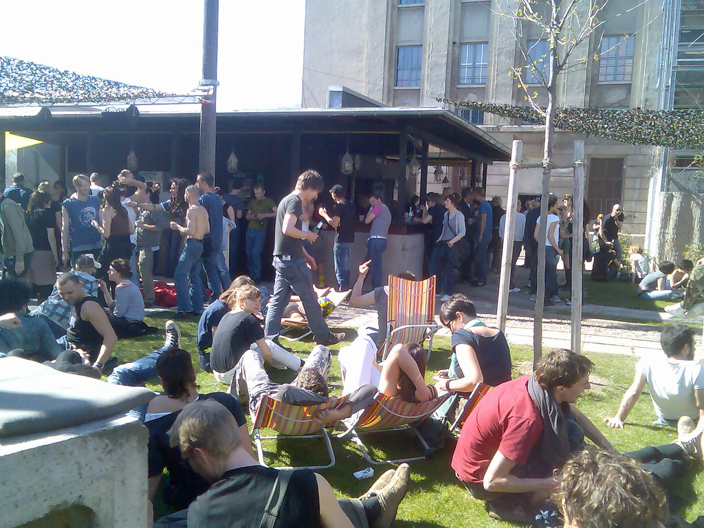 Berghain garten | Going home from Berghain was hard and ...