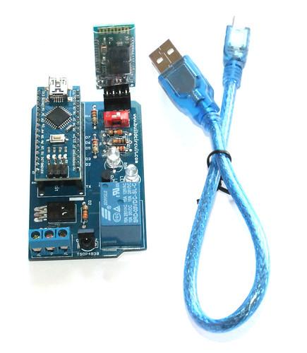 Step 15- Use Mini USB cable to program Arduino Nano - Copy