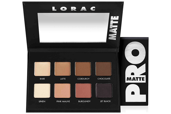 LORAC PRO MATTE EYESHADOW PALETTE REVIEW, PHOTOS