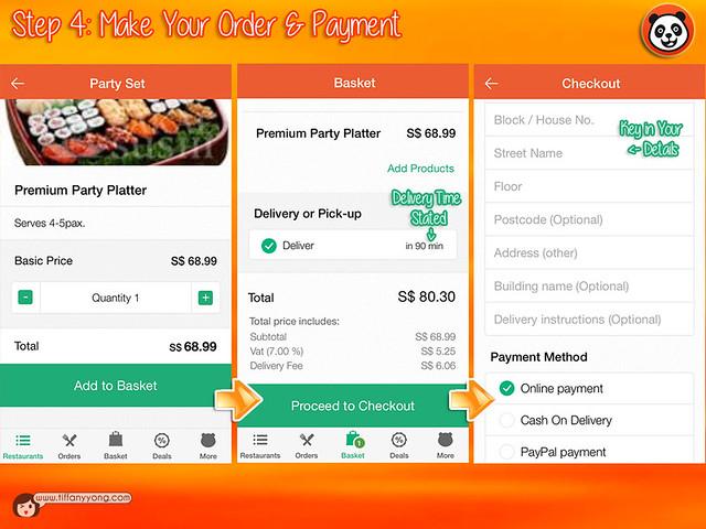FoodPanda App User Guide 4