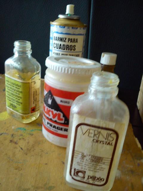 óleos y barnices