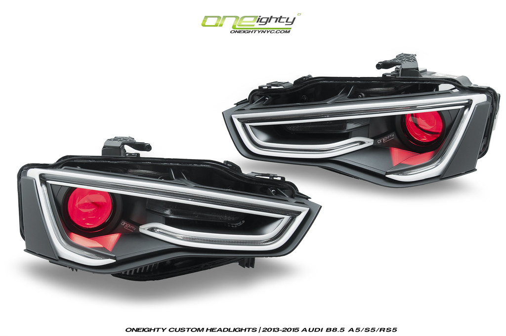 Audi A5 S5 B8 5 Headlights By Oneighty Oneightynyc Flickr