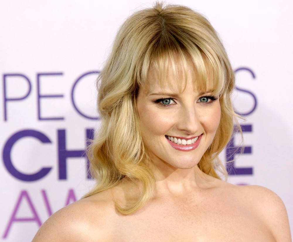 Pretty Melissa Rauch Smiling Wallpaper Check This Wallpape Flickr