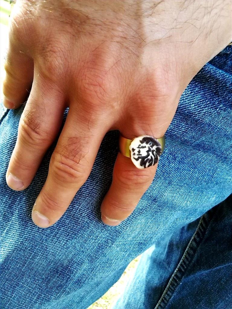 Chic Shed Jewelry on Etsy - Deer Antler Ring - Deer Antler… | Flickr