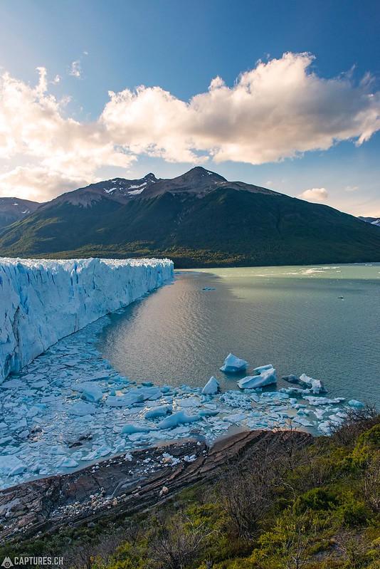 The front of the glacier - Parque Nacional Los Glaciares