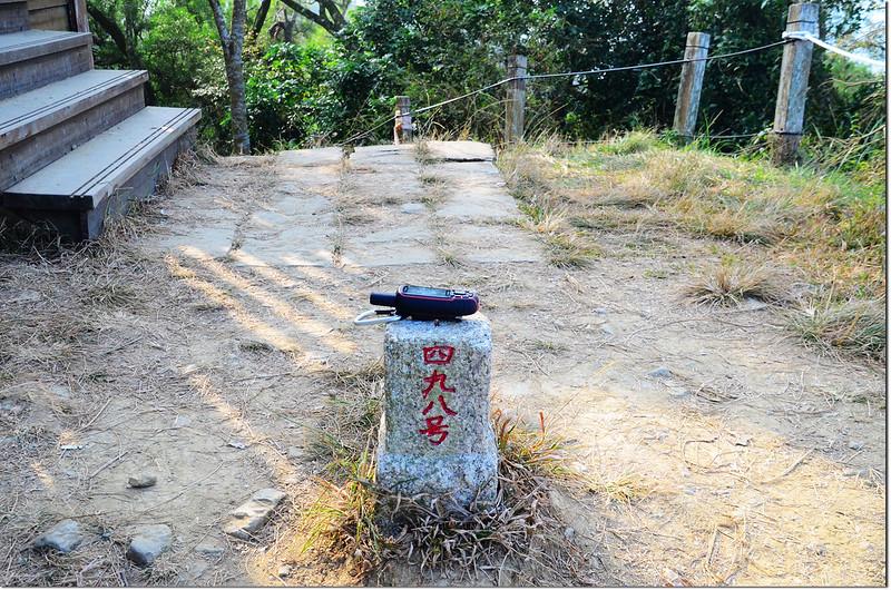 王爺崙三等三角點(# 498 Elev. 530 m) 1