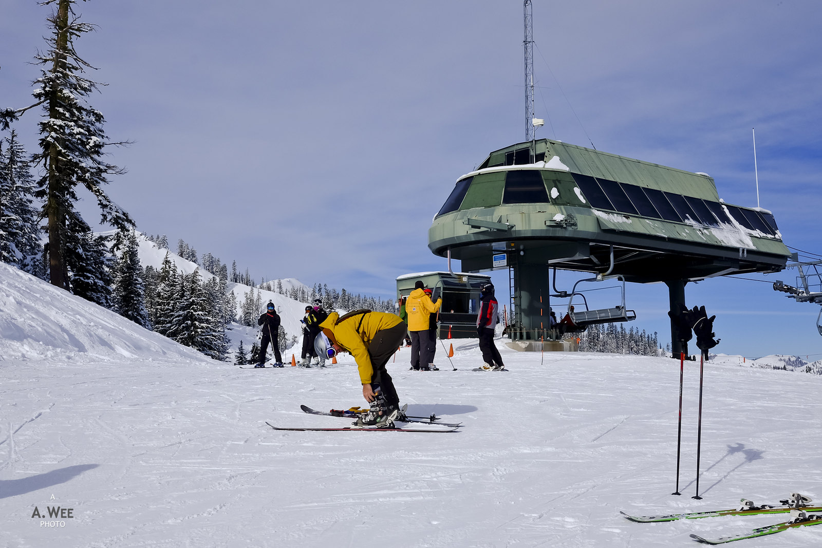 Roundhouse Express chairlift