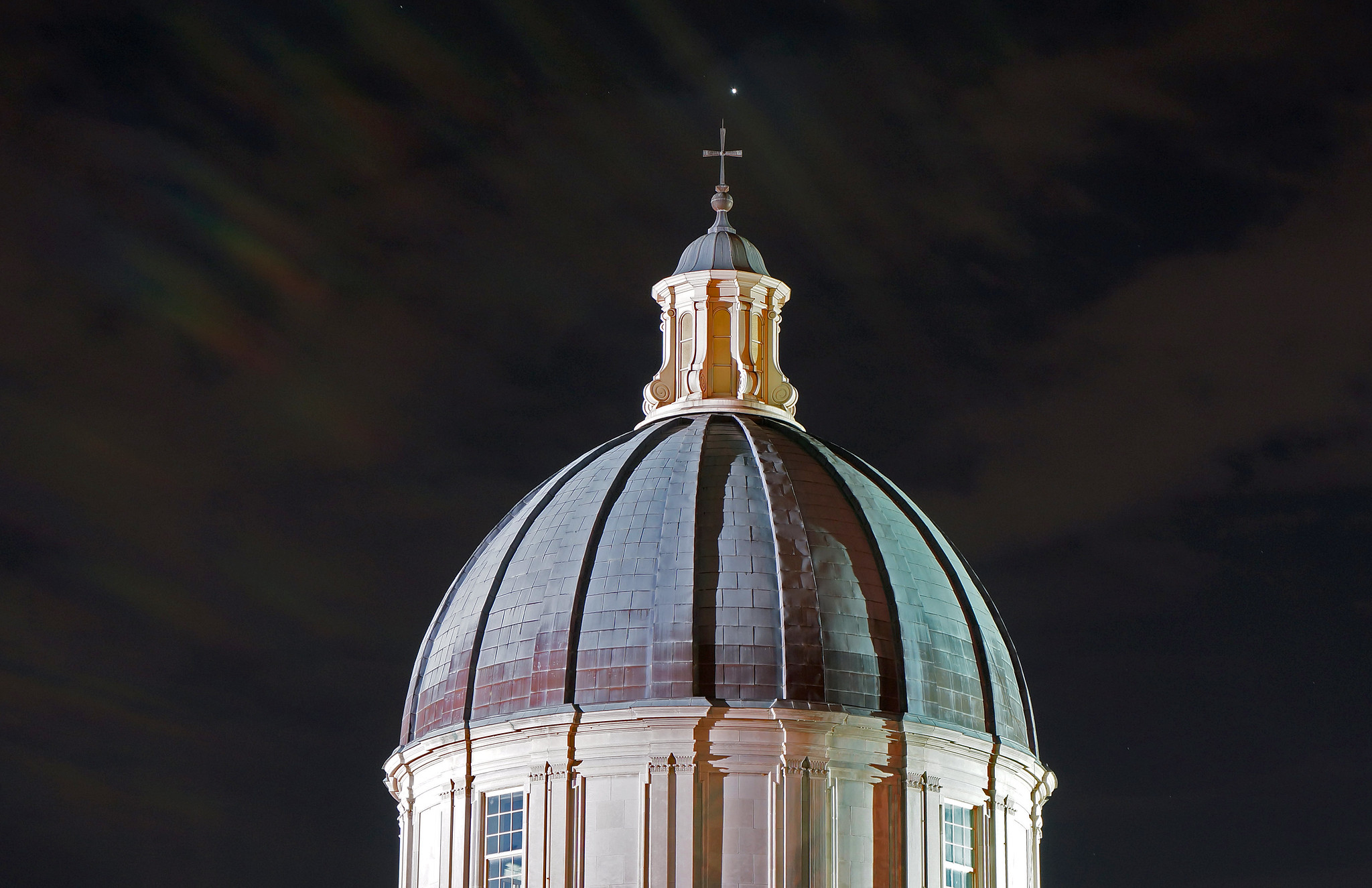 Samford University at Night 1