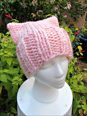 Pussy Hat 3, from the side