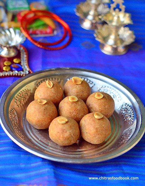 Peanut ladoo recipe