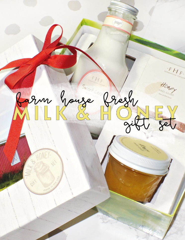 farm house fresh milk & honey gift set (4)