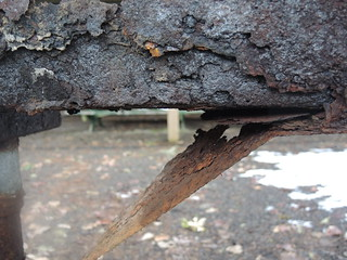 Rust close up