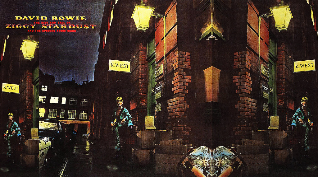 David Bowie Album Covers Ziggy Stardust