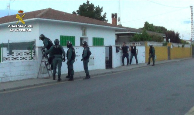 Operación Guardia Civil Collado Villalba