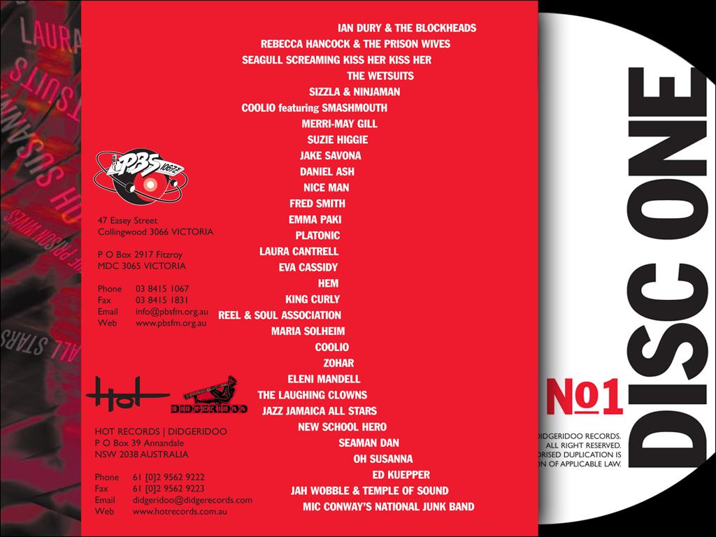 PBS Sample No1 CD