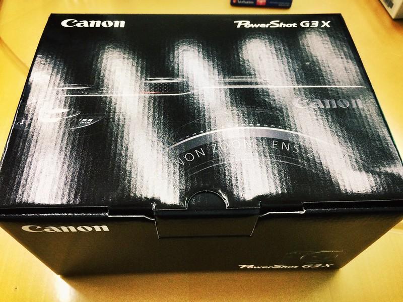 Canon PowerShot G3 X Unboxing.