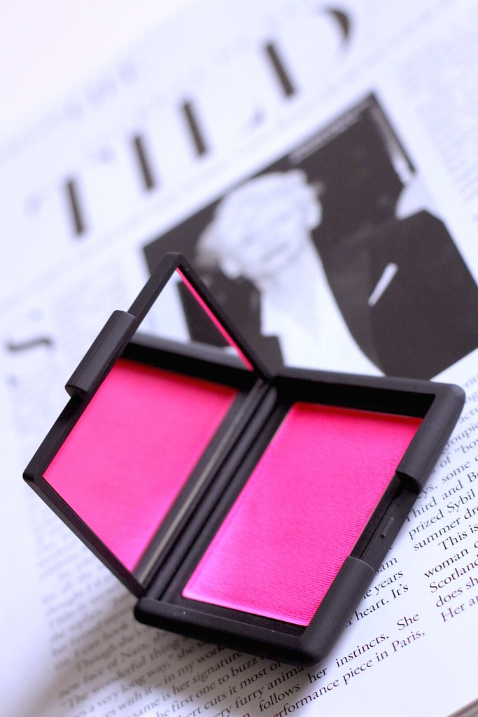 nars christopher kane  blush starscape
