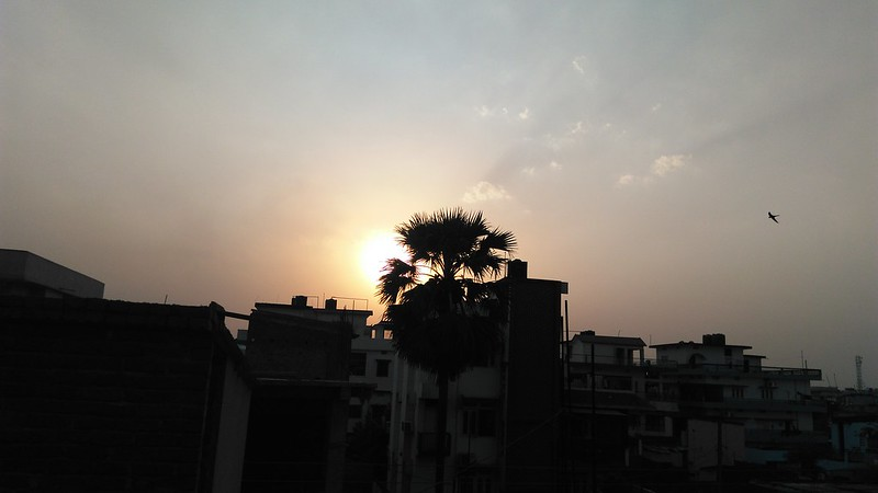 Huawei Honor 4X - rear camera sample sunset