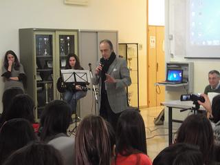 Rutigliano- Francesco Lanza al Liceo Alpi