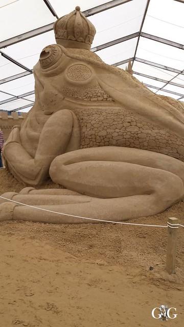 Swinemünde Sand Skulpturen Festival 201563