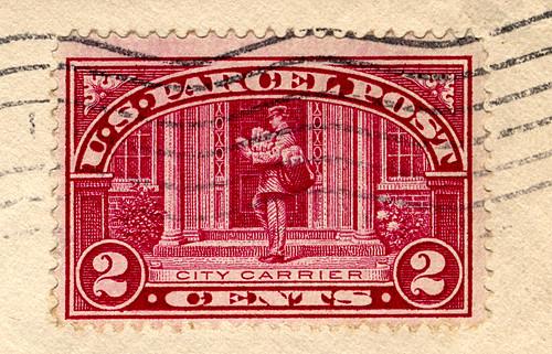 2-Cent U. S. Parcel Post Stamp