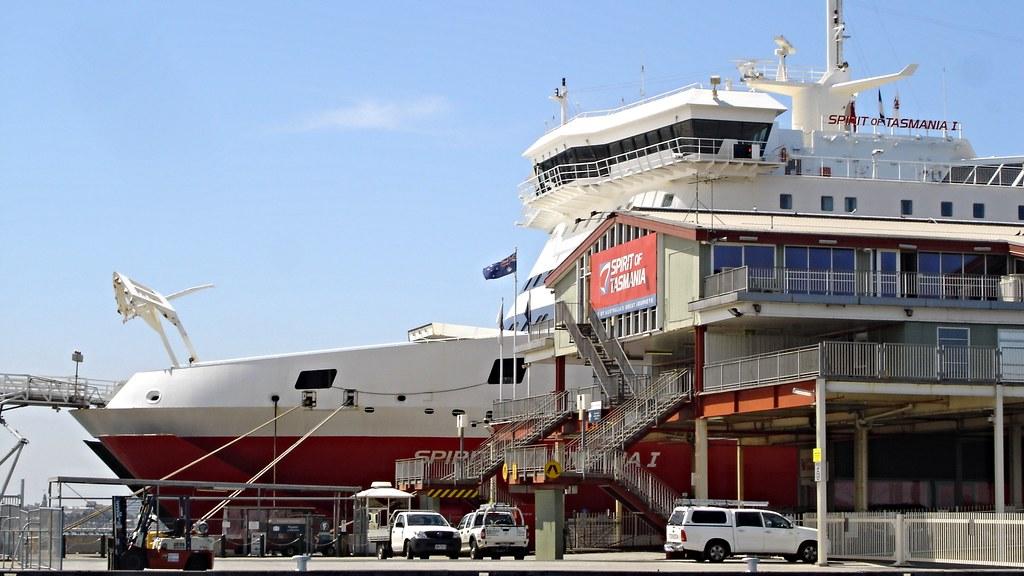Spirit Of Tasmania I Station Pier Port Melbourne Victor