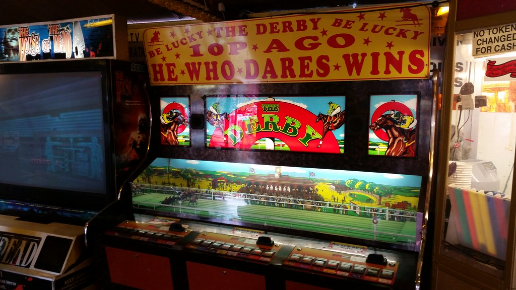 the derby horse racing arcade machine 10p a go he who dar flickr