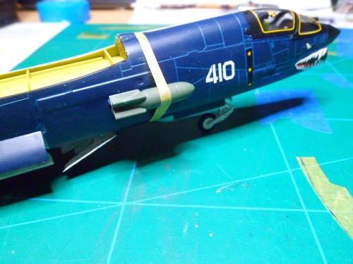 Pas-à-pas : Vought F-8E Crusader [Academy 1/72] - Page 3 31804537961_7f0dc77b5c_o