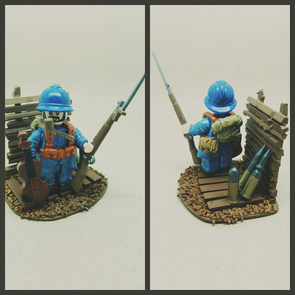 Ww1 french infantry battle of verdun close shot of my for Siege lego france