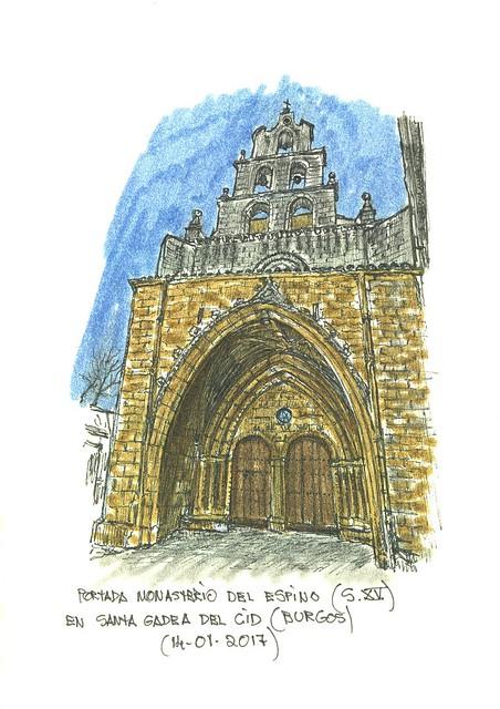 Santa Gadea del Cid (Burgos). Monasterio del Espino