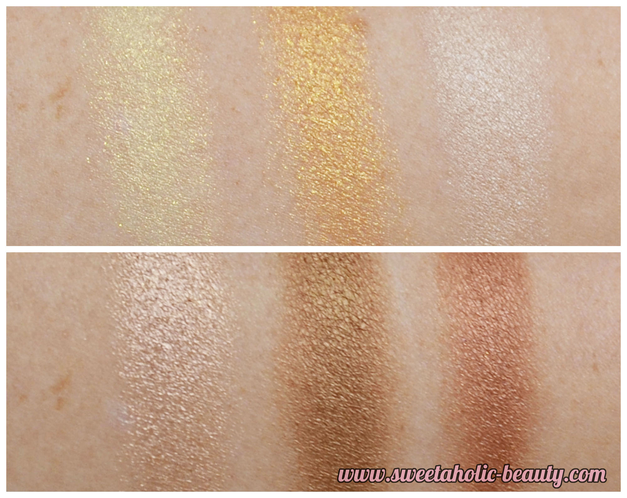 Australis Bronzeyed Girl Eyeshadow Palette Review & Swatches - Sweetaholic Beauty