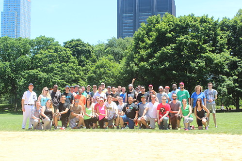 C&R's DBC 6 Softball Game in Central Park