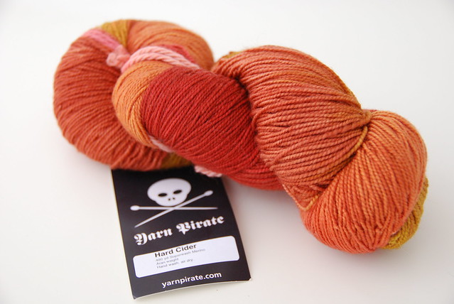Yarn Pirate Superwash Merino Sock