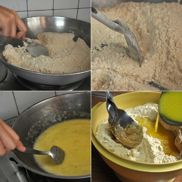 polvoron making
