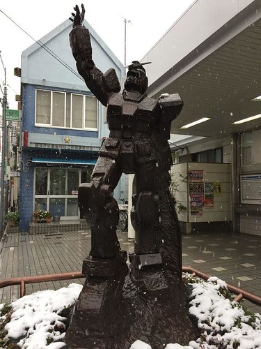 Gundam November 2016 - snow