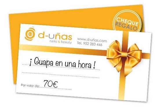 D-Uñas tarjeta regalo