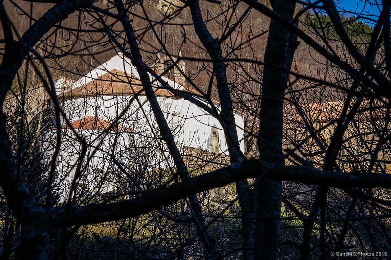 Ermita de les Salines desde el otro lado del barranco
