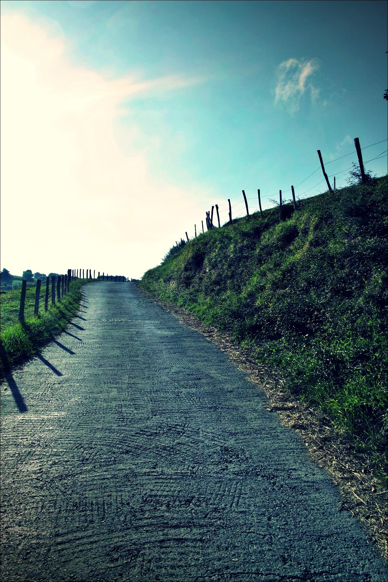 길-'카미노 데 산티아고 북쪽길. 산 세바스티안에서 사라우츠. (Camino del Norte - San Sebastian to Zarauz)'