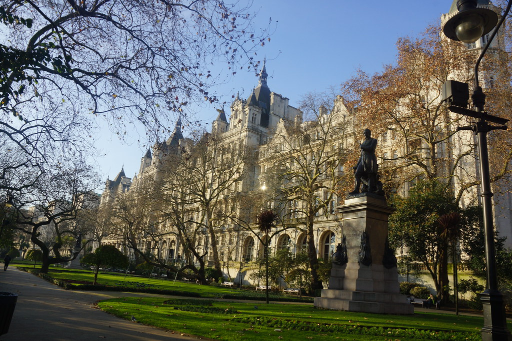 Royal Horseguard Hotel And James Outram Statue Matthew No Flickr