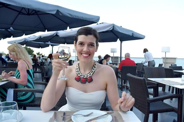 UK travel blogger at Marbella Corfu