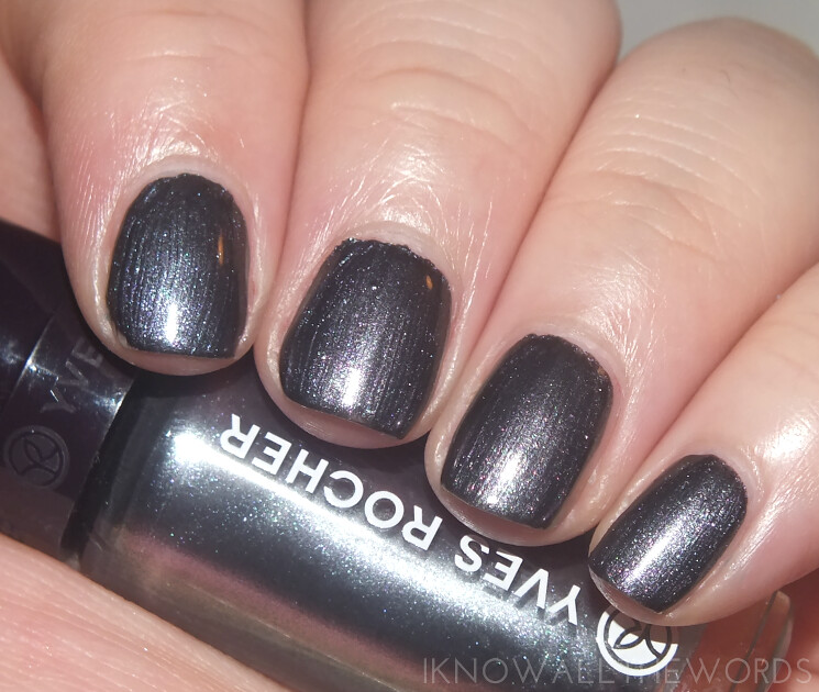 yves rocher summer creation 2015 nail lacquers iridescent anthracite