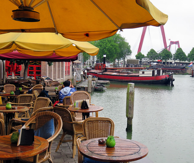 Dutch Maritiem Pub in Rotterdam, Holland