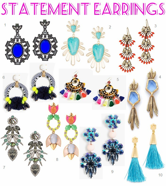Obsession: Statement Earrings
