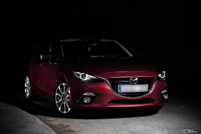 Mazda 3  Black and Red