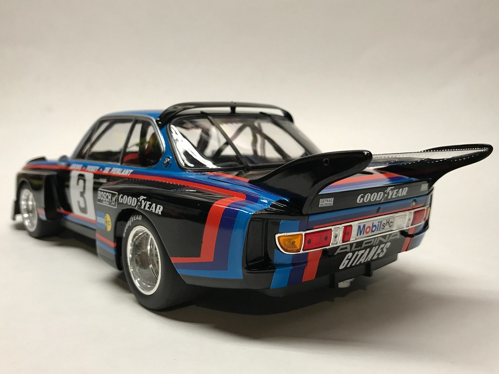 1 18 minichamps bmw 3 5 csl alpina 24h le mans 1976 faltz. Black Bedroom Furniture Sets. Home Design Ideas
