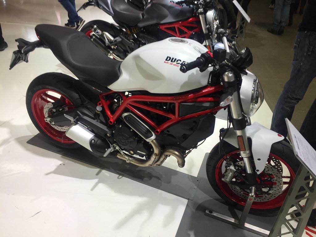 MC-mässan 2017 - kanske dags för en ny leksak - Ducati Monster