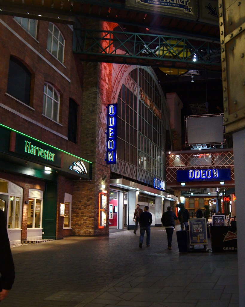 #datenight at the Printworks - Odeon