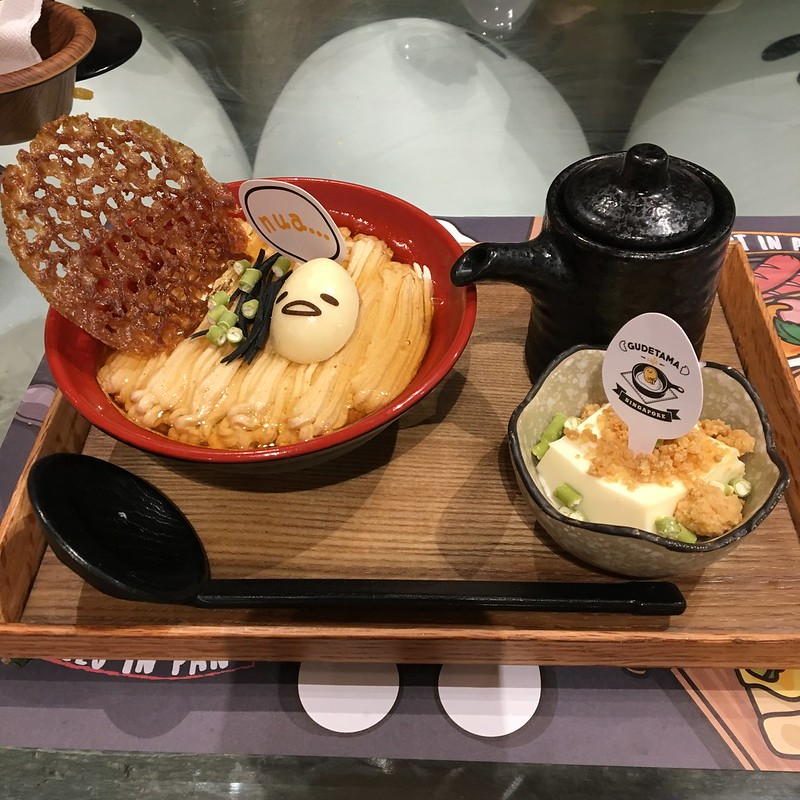 Theme Cafe Reviews: Gudetama Cafe Singapore