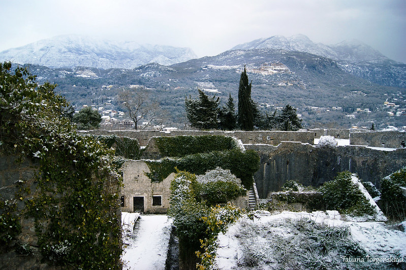 Внутри крепости Шпаньола