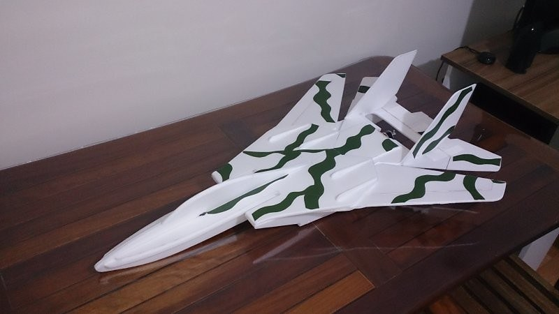 F-14 Tomcat - Depron model yapımı